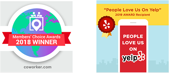 Members' Choice Award 2018 Winner/People Love Us On Yelp